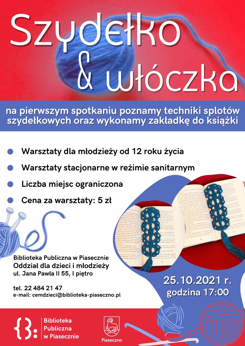 Warsztaty Szydełko & Włóczka