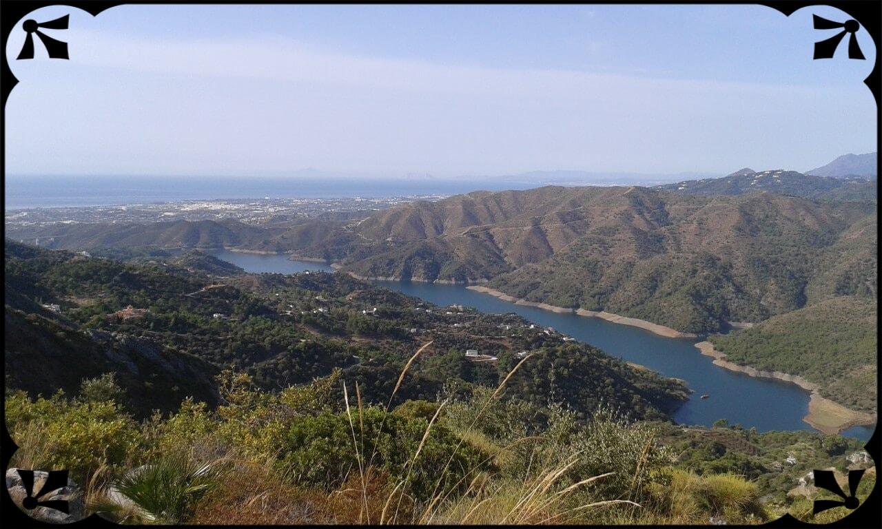 Widok naMorze Alborańskie zmasywu Sierra de las Nieves, fot.Łukasz Siudak